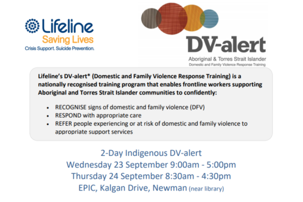 Lifeline Domestic and Family Violence Response Training