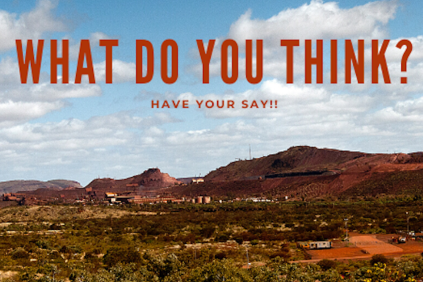 Drop-In Sessions (Newman): Newman and Shire of East Pilbara Development Strategy