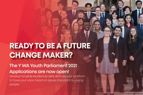 Applications for the 2021 Youth Parliament are now open!